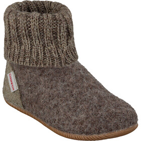 Giesswein Wildpoldsried Chaussons montants Enfant, taupe